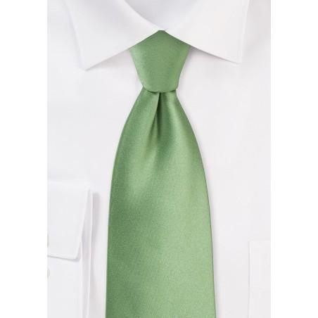 Sage Color Tie