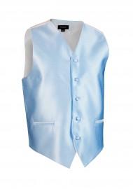 Textured Capri Blue mens formal  wedding vest