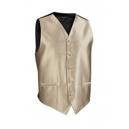 golden mens tuxedo textured vest prom weddings