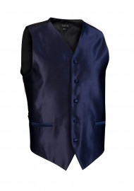 dark navy textured wedding formal vest mens