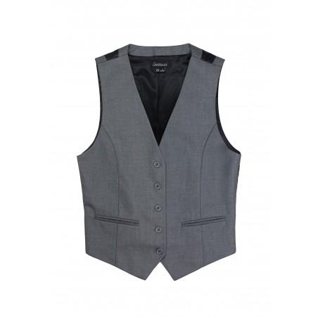Women/'s Lavender Adjustable Back Dress Vest