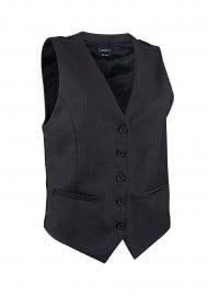 Women's Uniform Vest in Charcoal Gray