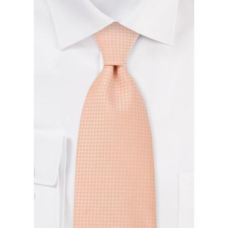 Light Orange Mens Necktie
