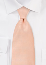 Light Orange Hued Kids Tie