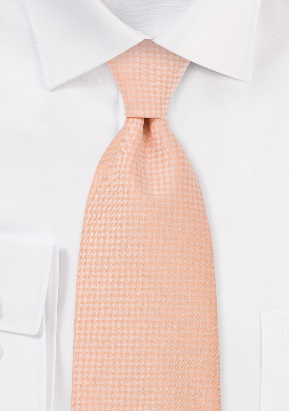 Light Orange Hued Kids Tie