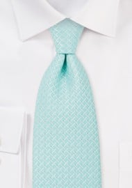 Light Cyan Blue Necktie