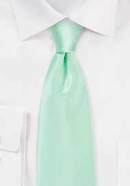 Honeydew Colored Mens Necktie