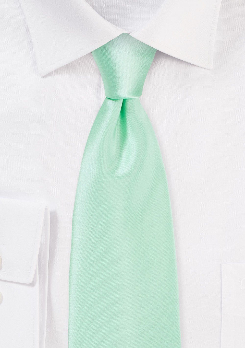 Honeydew Colored Mens Necktie