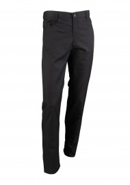 Dress Chef Pant Trousers in Black for Men