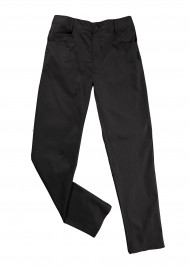 Dress Chef Trousers in Jet Black for Men