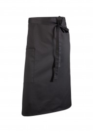 Bistro Apron in Black with Pocket