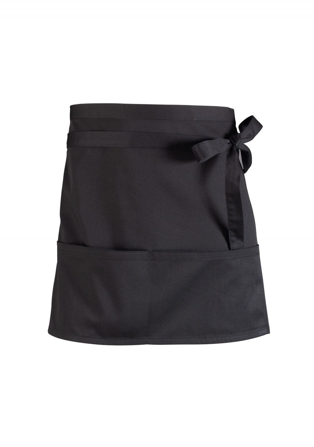 Waist Cooking Apron in Jet Black