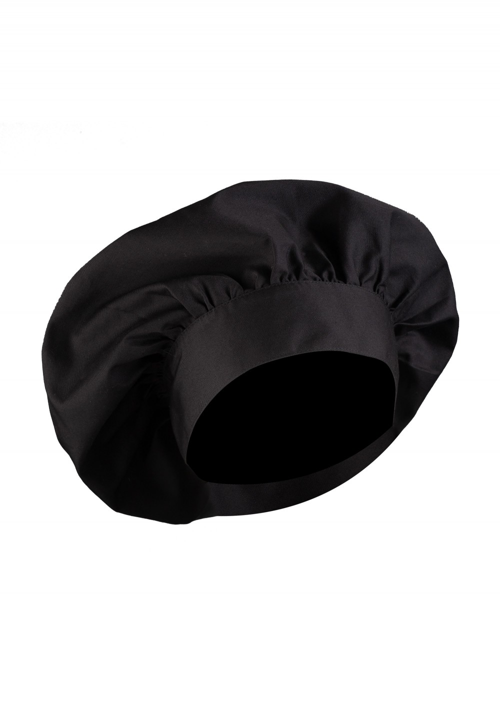 Tall Chef Hat in Black