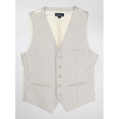 Classic Suit Vest in Tan