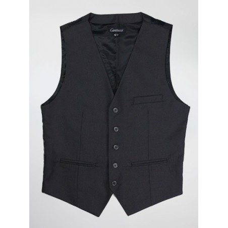 Elegant Suit Vest in Charcoal