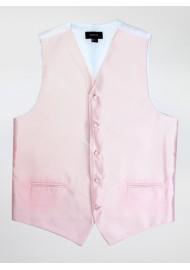 Dress Vest in Blush Pink