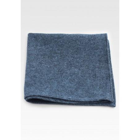 Cotton Hanky in Denim Blue