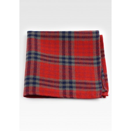Scottish Tartan Plaid Pocket Square