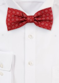 Bow Tie in Cherry Red