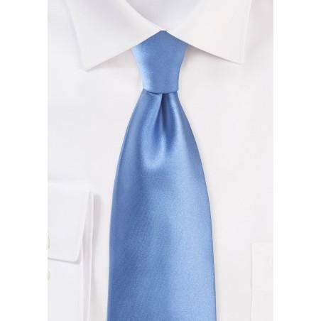 Peri Blue Tie in XL Lenth
