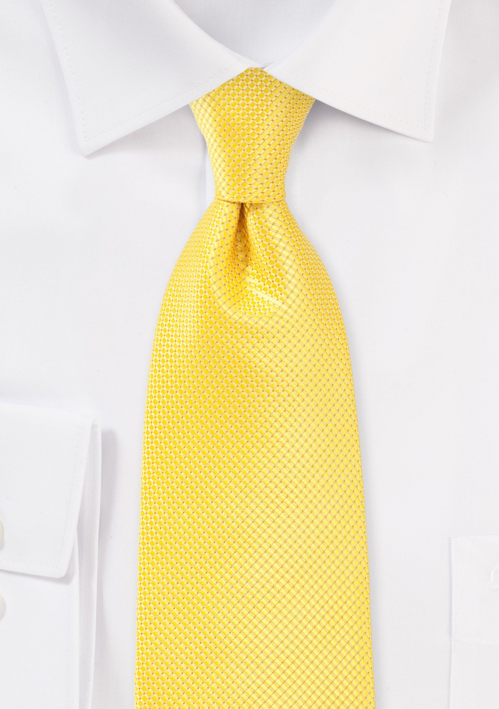 Bold Extra Long Tie in Sunbeam Yellow