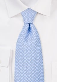 Powder Blue Mens Necktie