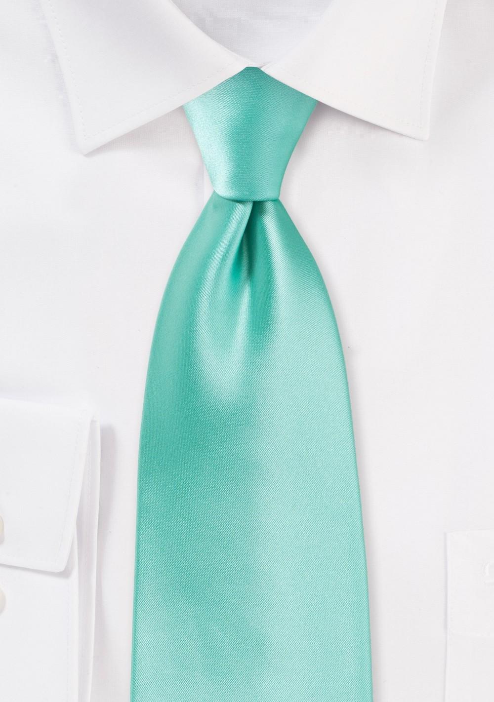 Beach Glass Colored Necktie