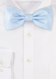 Wood Grain Bowtie in Ice Blue