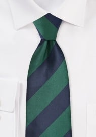 Classic Striped Necktie in...