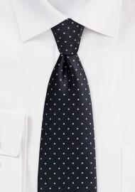 Black Men's Tie with...