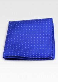 Royal Blue Polka Dot Hanky