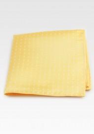 Saffron Yellow Polka Dot Hanky