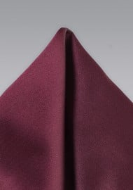 Plum Colored Pocket Square