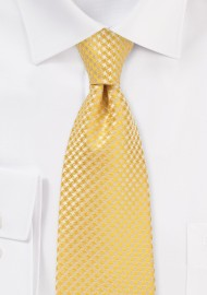 Dandelion Yellow Tie in Kids Length