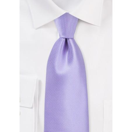 Summer Tie in Violet Tulip