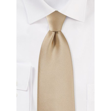 Oatmeal Colored Men's Tie