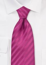 Rasberry Pink Kids Necktie