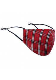 Scottish Tartan Plaid Face Mask