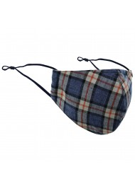 Scottish Plaid Face Mask