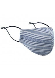 Designer Mask in Multitrack Stripe