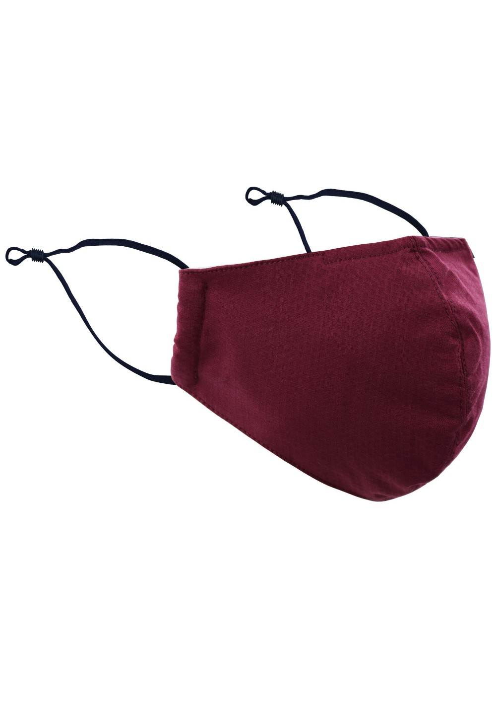 Cotton Mask in Burgundy Red