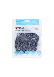 bandana paisley print face mask in cotton with filter flat in bag