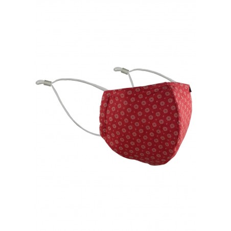 Face Mask in Cherry Red