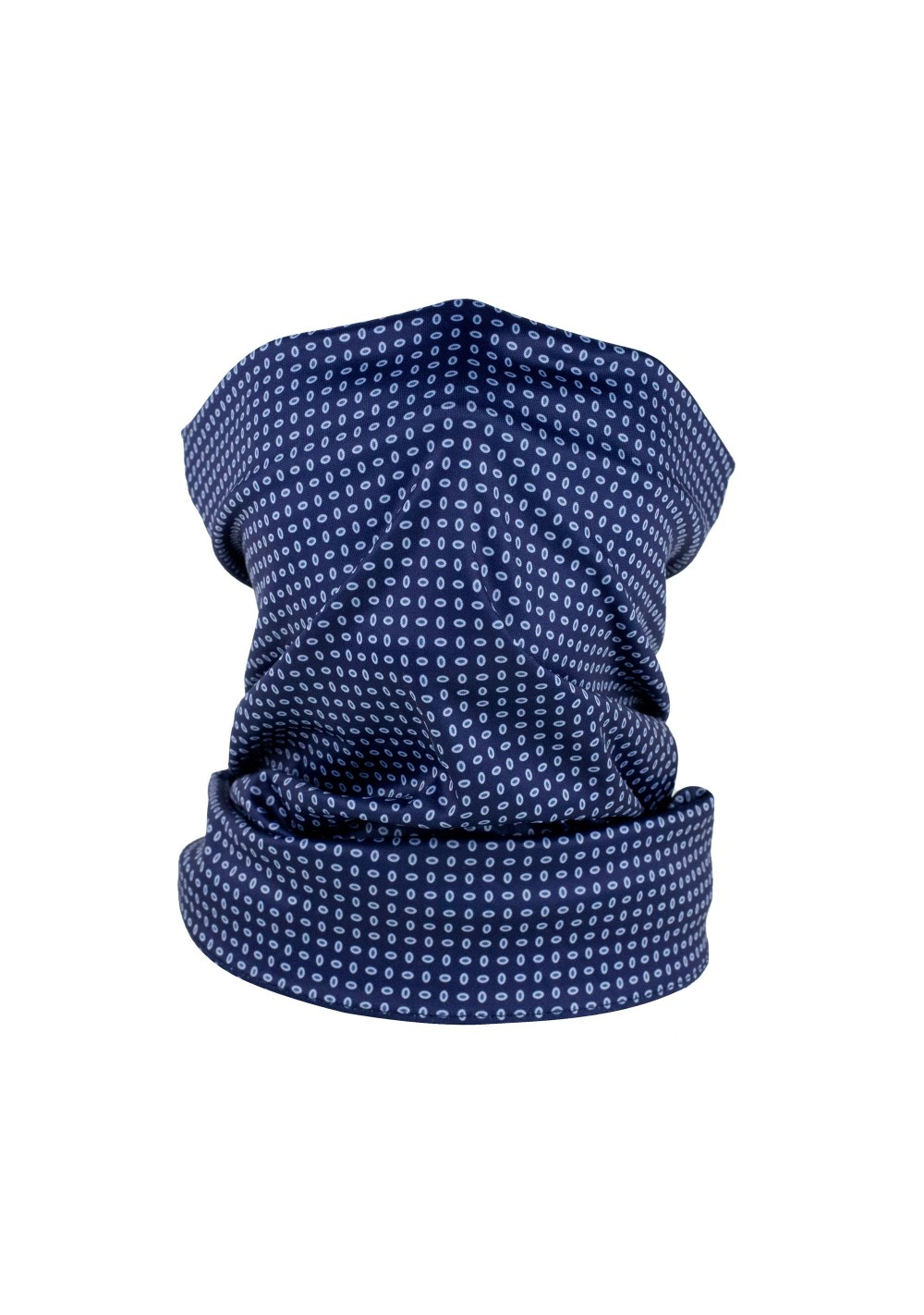 navy blue mens and womens neck gaiter mask