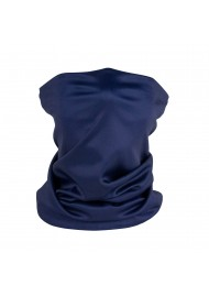 solid navy blue neck gaiter mask