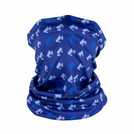 terrier print neck gaiter for dog lovers