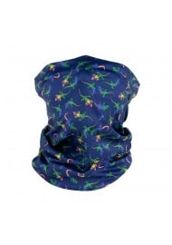 gecko print neck gaiter mask