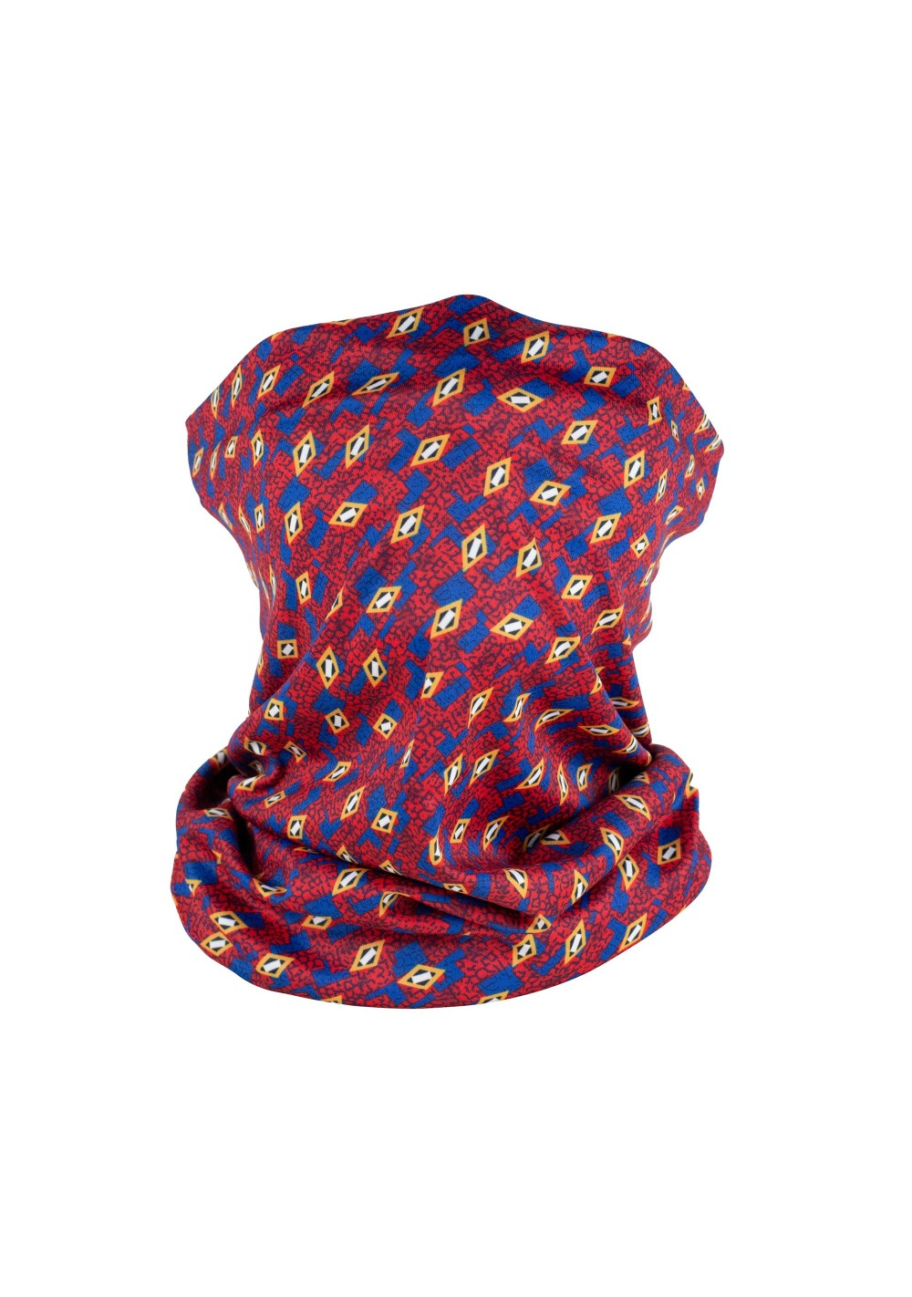 stylish neck gaiter mask in anti bacterial fabric