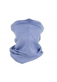 Gingham Check Neck Gaiter...