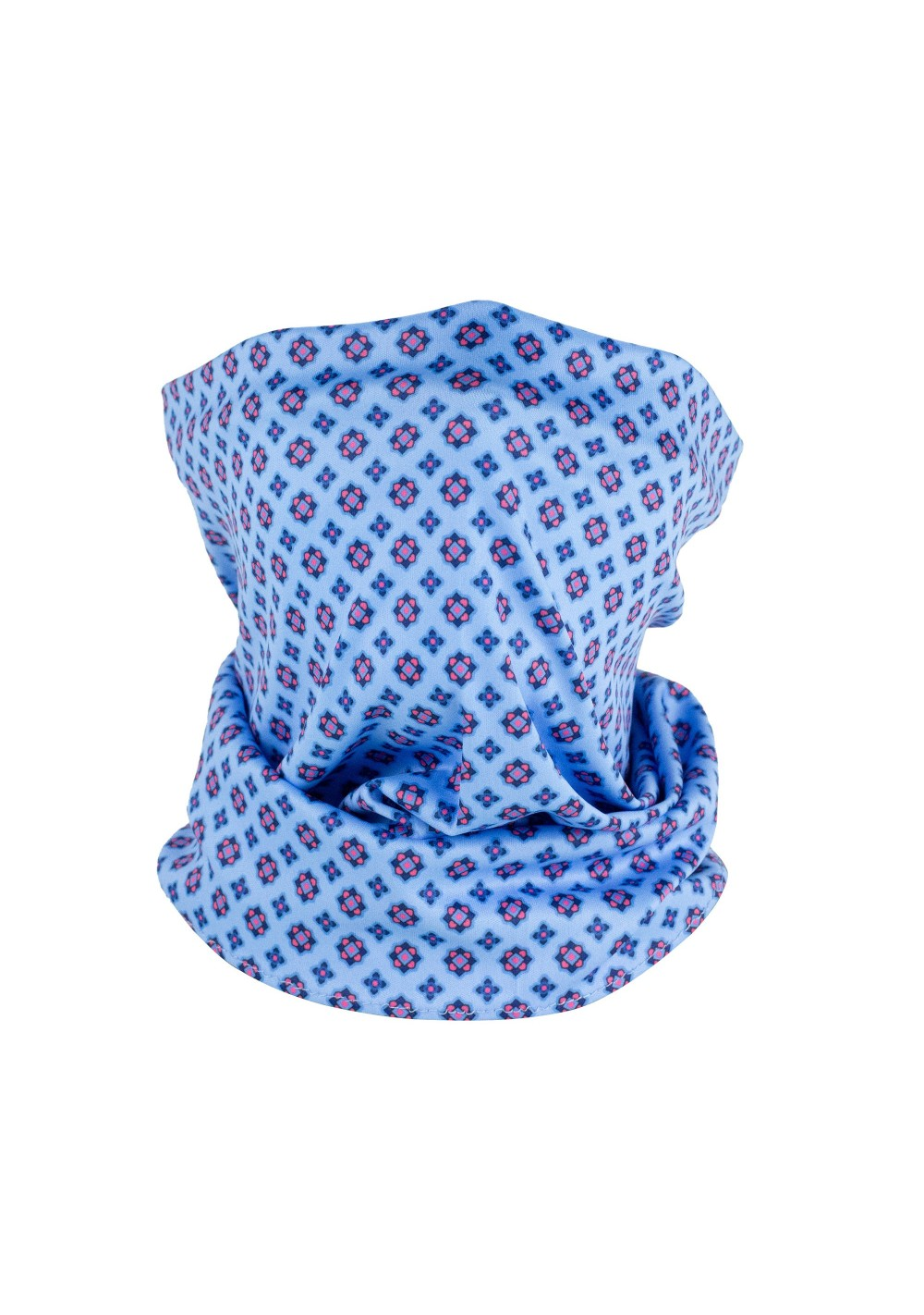 blue print mens and womens neck gaiter mask